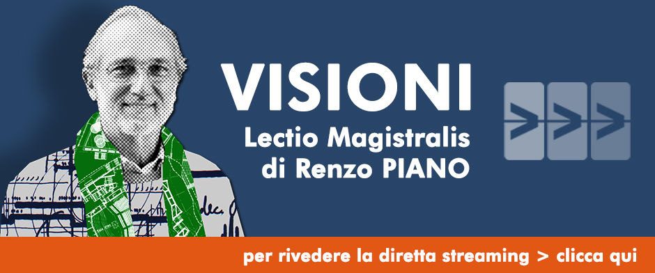 RIVEDI STREAMING LECTIO RENZO PIANO